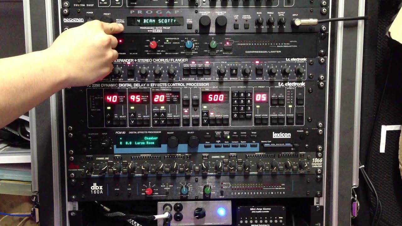 rocktron progap ultra dbx 160x tc 1210 tc 2290 lexicon