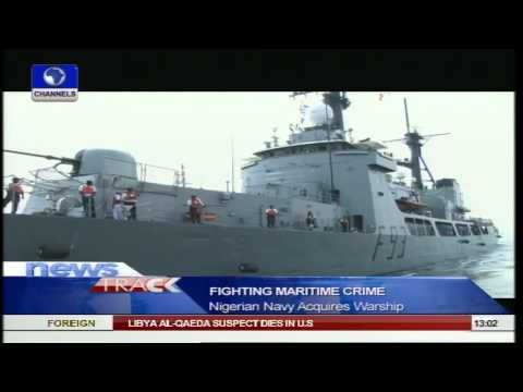 Nigerian Navy Acquires New War Ship
