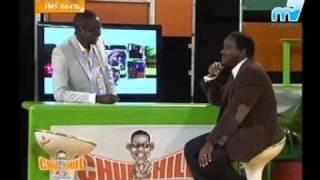 H.E. Kalonzo Musyoka on Churchill Live Show.