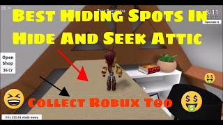 Roblox Hide And Seek Extreme Best Spots In The Attic Preuzmi