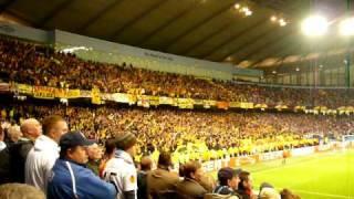 Manchester City - Aris Thessaloniki 24/02/11 Aris Fans
