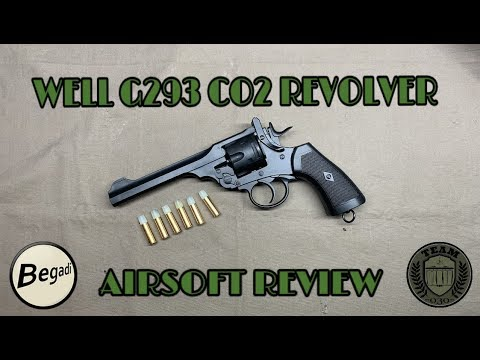 [REVIEW] WELL G293 CO² Revolver Lightweight-Version