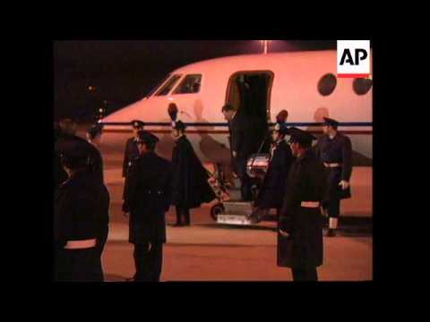 ITALY: ROME: BALKAN LEADERS ARRIVE FOR 2 DAY BOSNIA SUMMIT