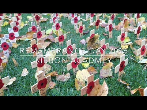 REMEMBRANCE DAY 2016 | The Ribbon School