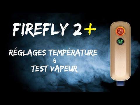 Firefly 2+ : Réglages de Température sans Appli & Test de Vapeur