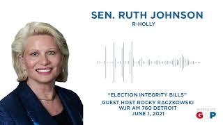 Sen. Johnson talks election reform bills on WJR