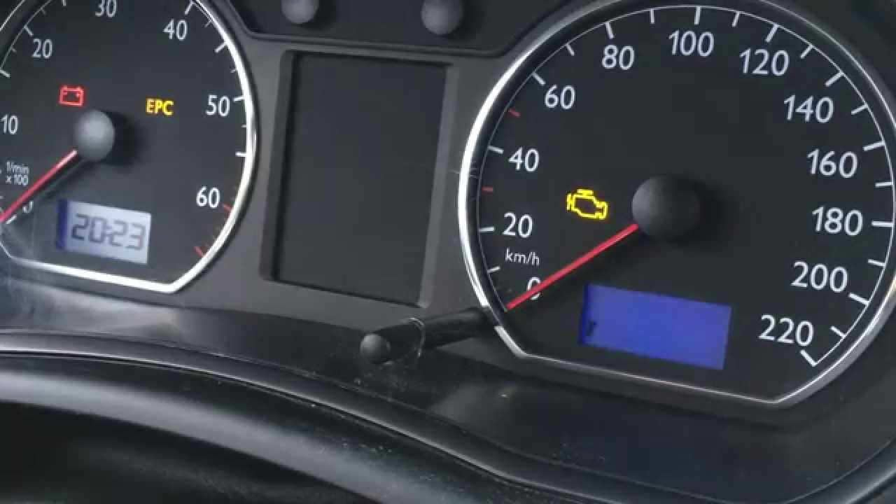VW Polo SERVICE INSP Reset  How to reset inspection light