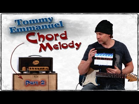 Tommy Emmanuel - Easy But Awesome Chord Melody Breakdown - Guitar Lesson - GuitarBreakdown