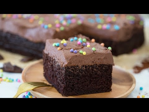 How To Make The Best Chocolate Sheet Cake