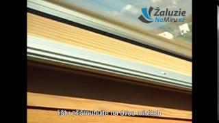 Montáž rolety do střešního okna - ŽaluzieNaMíru.cz