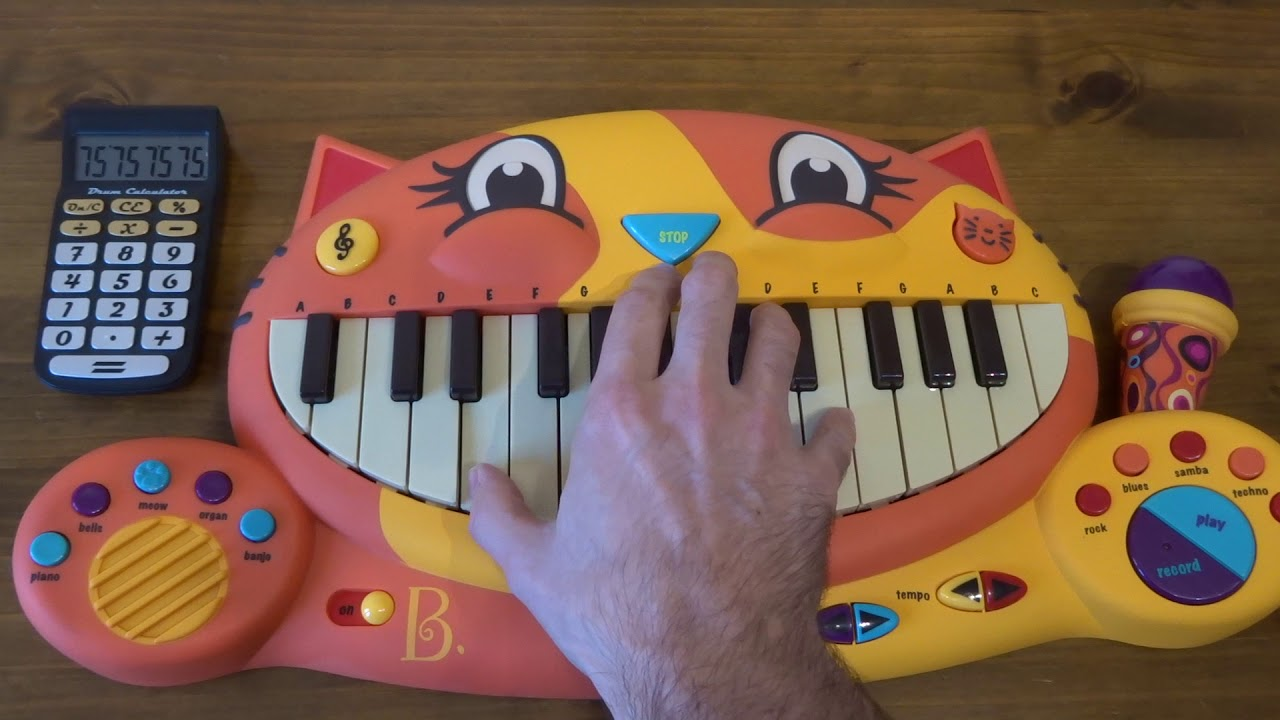 TO BE CONTINUED MEME SONG ON A CAT PIANO AND A DRUM ...