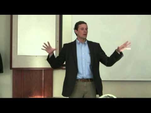 Chad Nicholson of CELDF speaks in  Potter County, PA