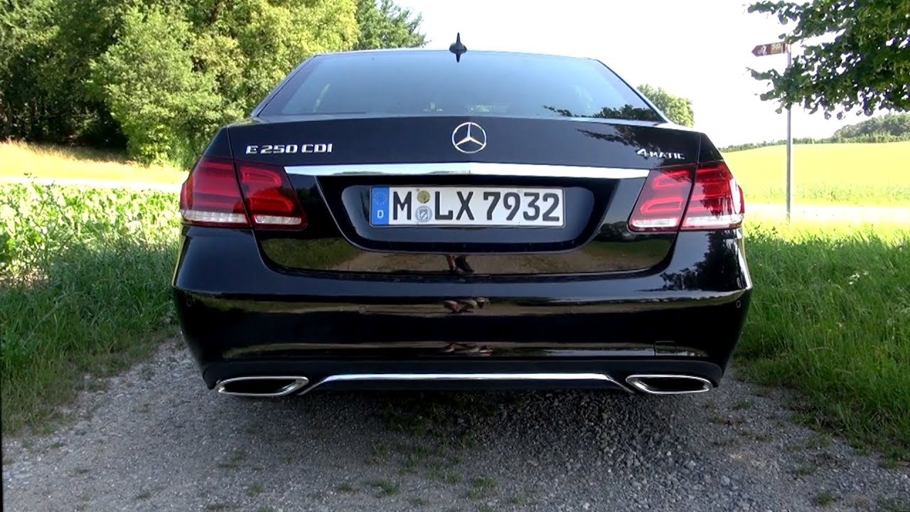 2014 mercedes e 250 cdi 204 hp test drive youtube. Black Bedroom Furniture Sets. Home Design Ideas