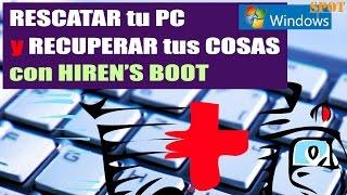Usar Hirens Boot para rescatar tu PC y recuperar tus datos