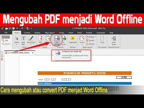 cara-convert-pdf-ke-word-offline