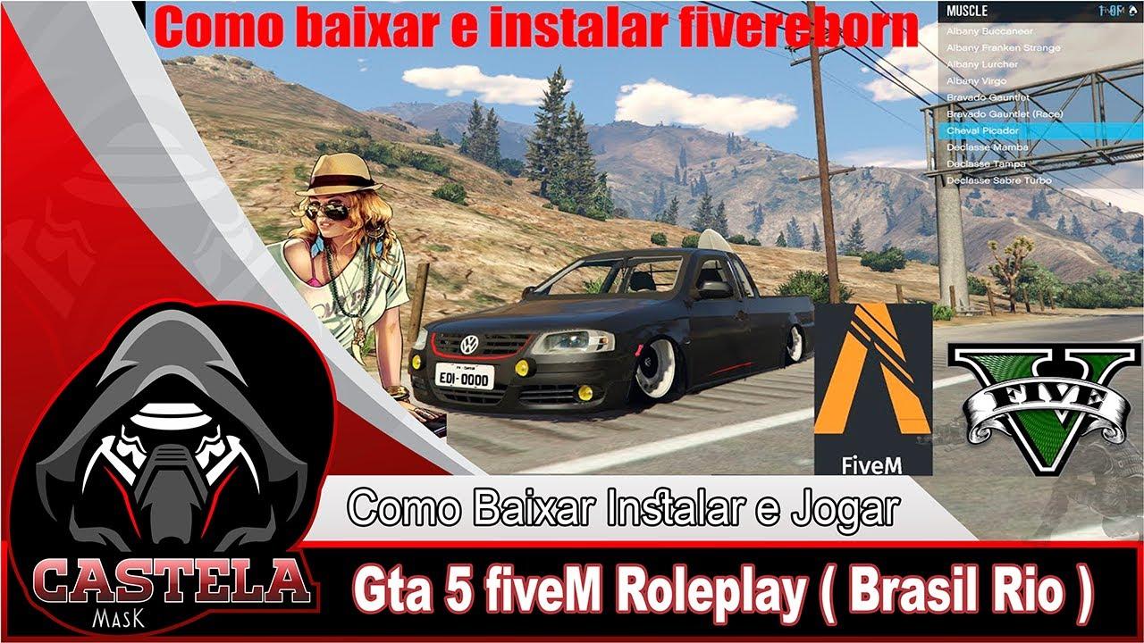 COMO JOGAR GTA V ROLEPLAY FIVEM - GTA V ROLEPLAY BRASIL