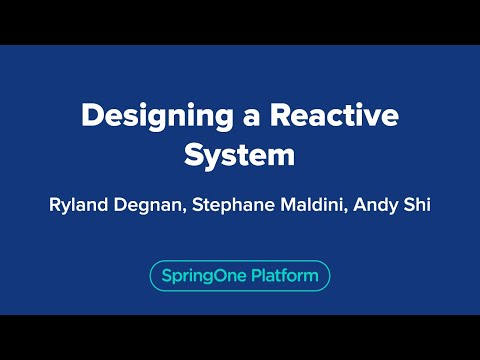 Designing a Reactive System