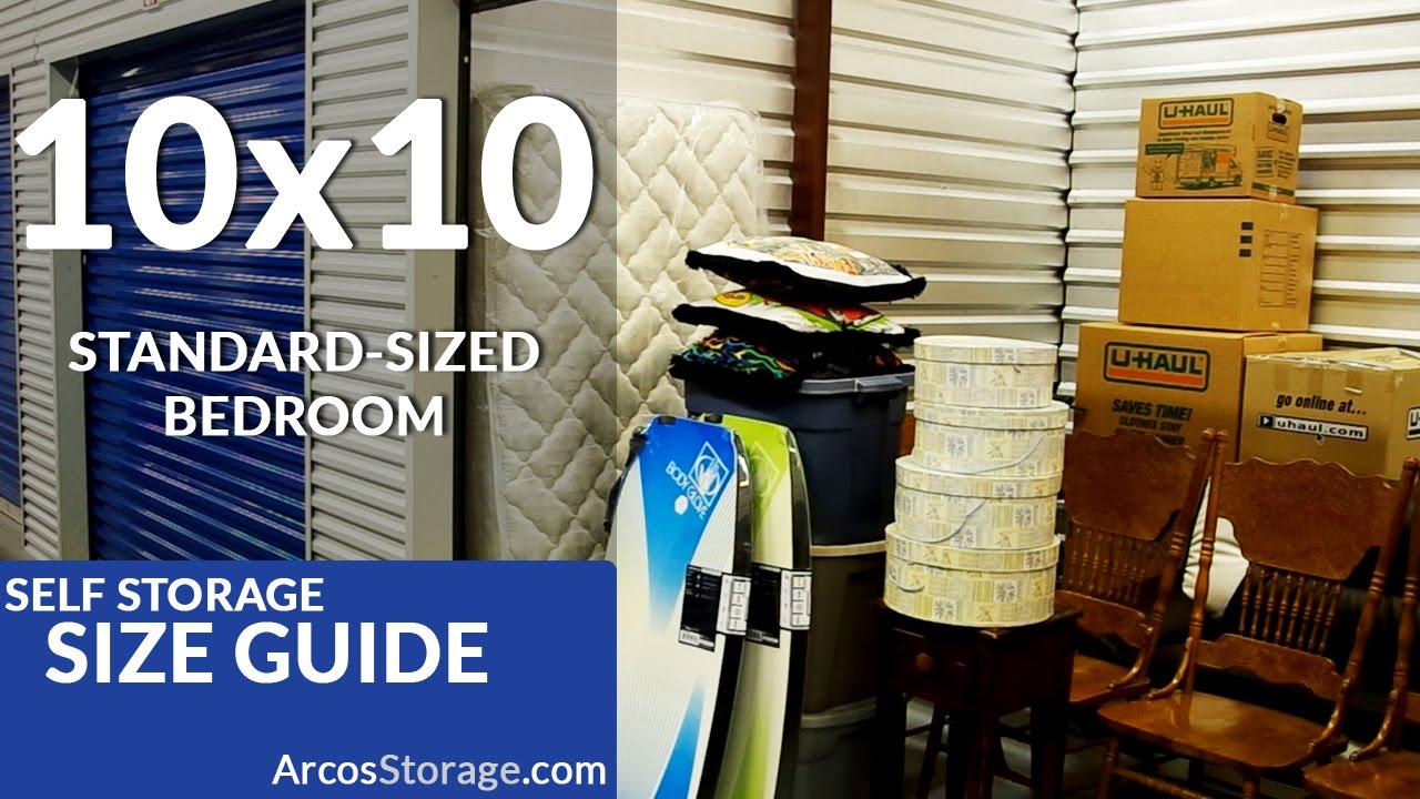 & 10x10 Size Guide: Self Storage - YouTube