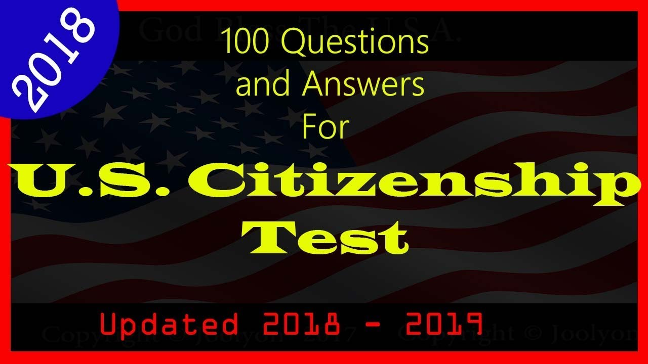 Official 100 Questions and Answers for the US Citizenship ...