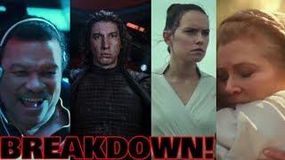 PALPATINE RETURNS!!! - Star Wars Episode IX - The Rise Of Skywalker Teaser BREAKDOWN