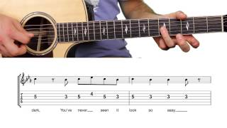 ► Drag Me Down - One Direction (Guitar Lesson / Tutorial) Chords & Melody + TAB