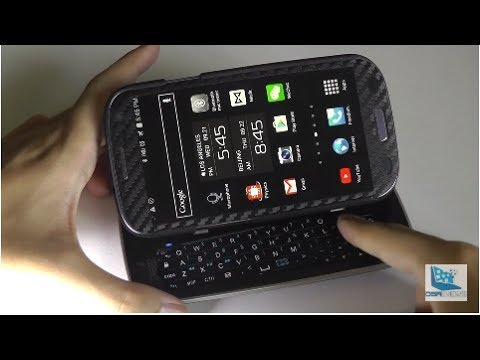 REVIEW: Sliding Bluetooth Keyboard Case for Galaxy S3