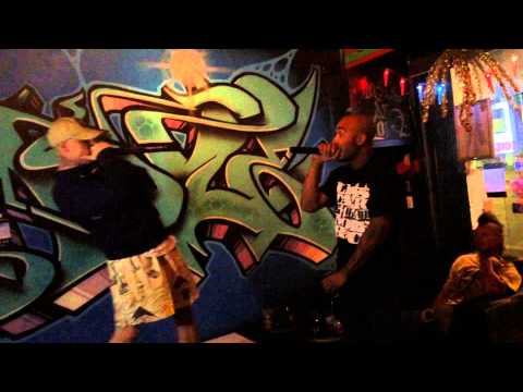 Hed UBD & Skeaz Lauren - Mercy @ West Syd Hip Hop Launch, Hustle & Flow Bar, Redfern