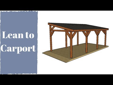 How to Build a Lean to Carport