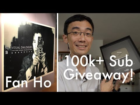Silver play button GIVEAWAY / Fan Ho Exhibition: Lok's Wideo Blog 22.6.2017