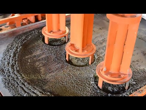Incredible Modern Concrete Pipe Manufacturing Technology - Amazing Construction Equipment Machines