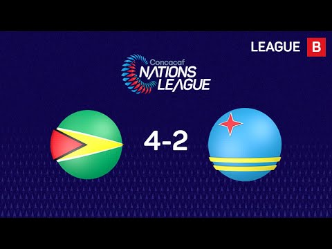#CNL Highlights - Guyana 4-2 Aruba