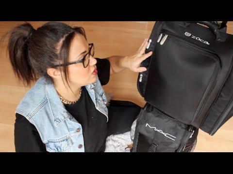 Mon Kit de Maquilleuse professionnelle - Coiffeuse / Malette Mac Pro Bag - Zuca Artist Backpack