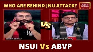 NSUI Vs ABVP Debate: Who Are Behind Masked Mob Attack In JNU Campus? | 5ive Live