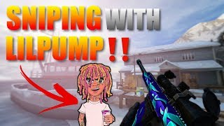 Forward Assault Defuse Sniping with Lil Pump‼️