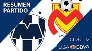 Resumen y Goles   Rayados vs Morelia   Jornada 2 - Clausura 2020   Liga BBVA MX