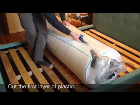 mycloud-mattress-unboxing