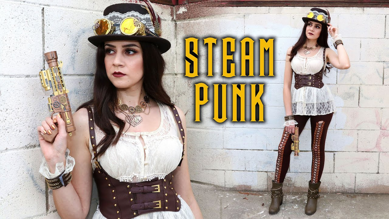 Diy Steampunk Costume Accessories Hat Goggles Leggings Harness Lucykiins
