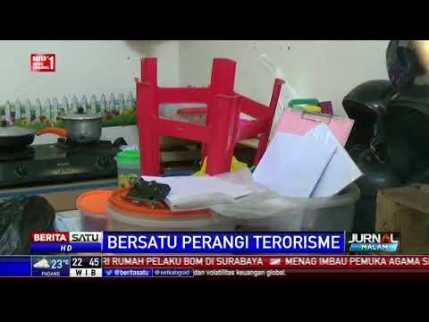 Densus Tangkap Pasutri Terduga Teroris di Malang