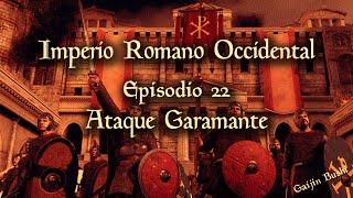 Attila Total War - Campaña Imperio Romano Occidental - 22 - Ataque Garamante