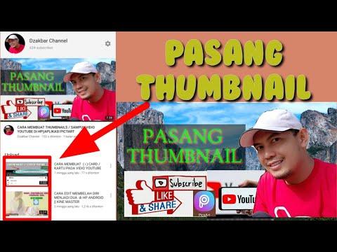 cara-membuat-thumbnail-youtube-pakai-hp||aplikasi-pictart