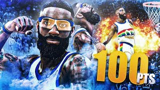 BREAKING 100 POINT GAME RECORD | CRAZY FADING THREE POINTERS! NBA 2K20 MyCAREER