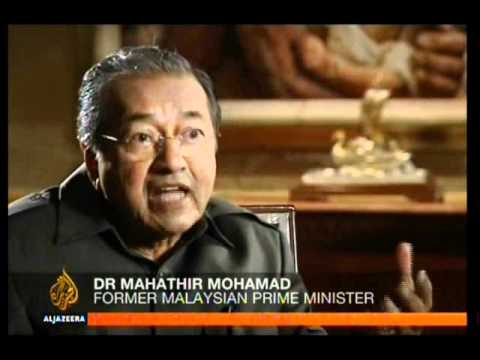 Malaysian Former Prime Minister Mahathir Mohamad