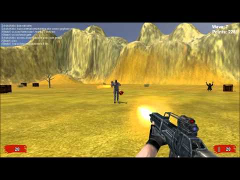 Survive! free online team survival game - gameplay alpha version 02/2011