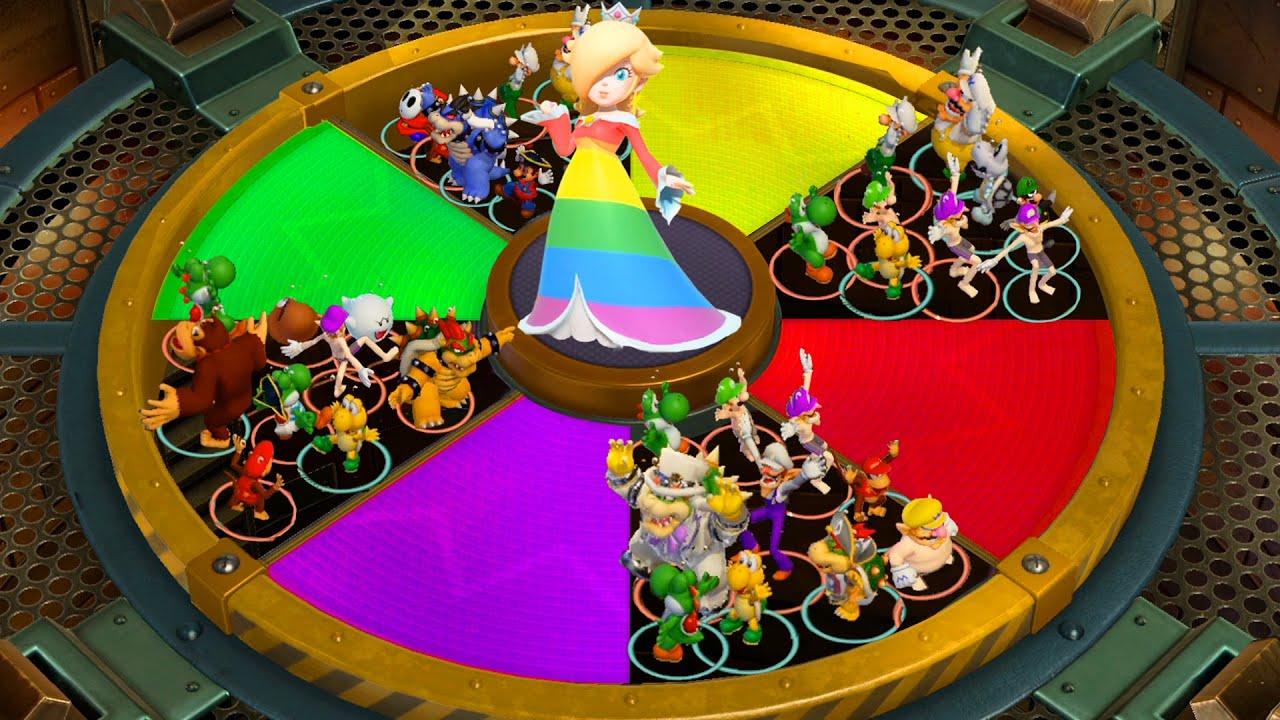 【スーパーマリオパーティ】ミニゲームロゼッタVsピーチVsデイジーVsルイージ(COM最強 たつじん)