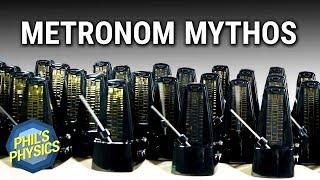 XXL-Experiment: Metronome synchronisieren sich gegenseitig? Mythbusters widerlegt!