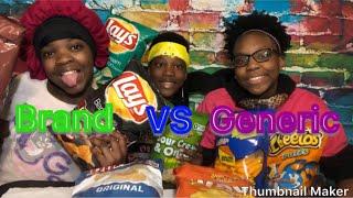 GENERIC vs BRAND NAME - CHIPS TASTE TEST