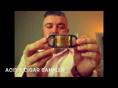 Acid cigar sampler From Thompson Cigars
