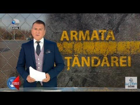 Stirile Kanal D (04.04.2020) - TANDAREI A INTRAT IN CARANTINA! Armata A Inchis Localitatea!