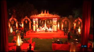 Indian Wedding Aerial Filming 2014