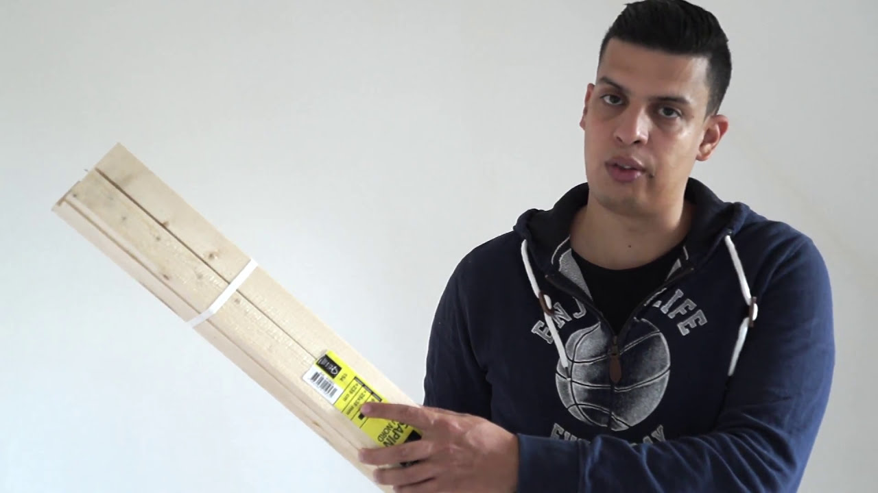 tuto fabriquer un lit cabane superpos partie 1 sur 6 youtube. Black Bedroom Furniture Sets. Home Design Ideas